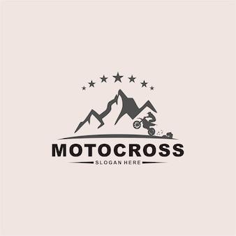 Design de logotipo de motocross