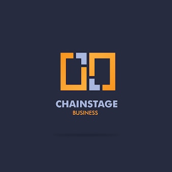 Design de logotipo de negócios criativos corporativos
