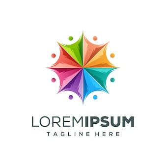 Design de logotipo de pessoas