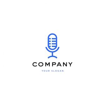 Design de logotipo de podcast