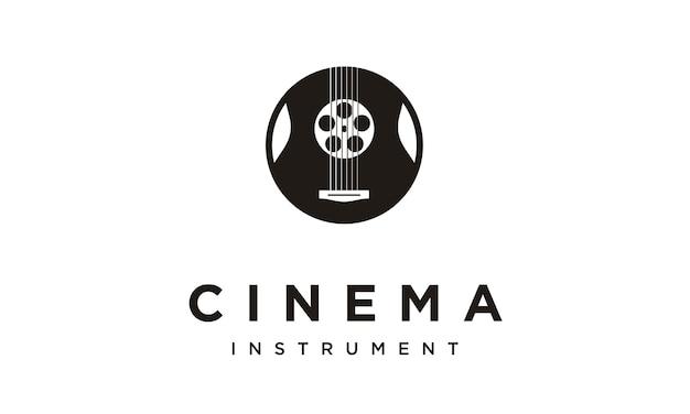 Design de logotipo de trilha sonora de filme