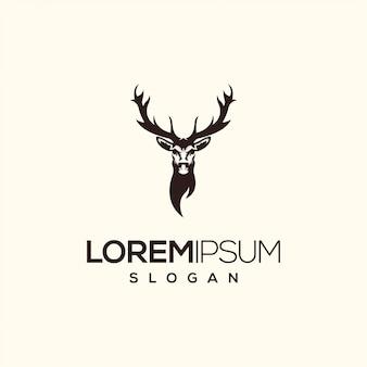 Design de logotipo de veado