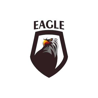 Design de logotipo de vetor de águia