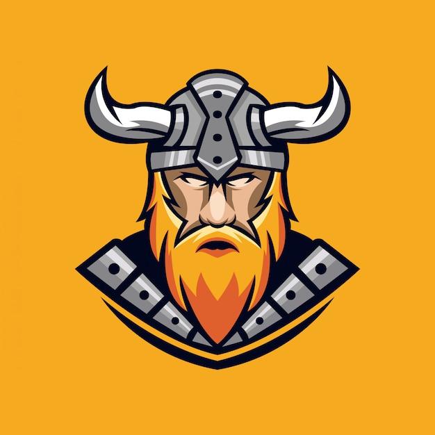 Design de logotipo de viking