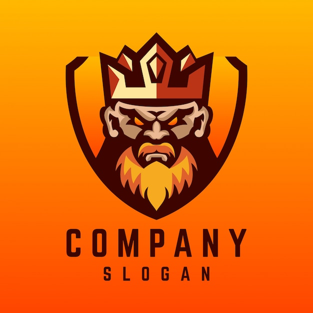 Design de logotipo de viking