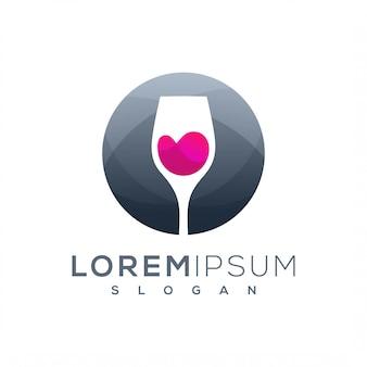 Design de logotipo de vinho
