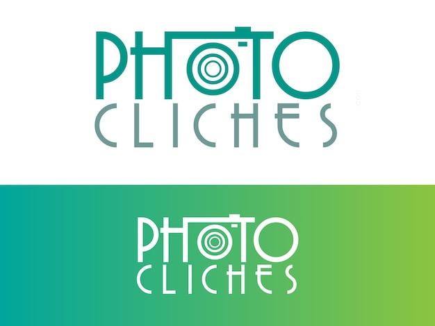 Design de logotipo do blog de fotografia pessoal