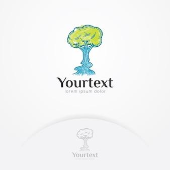 Design de logotipo do meio ambiente