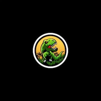 Design de logotipo do t-rex