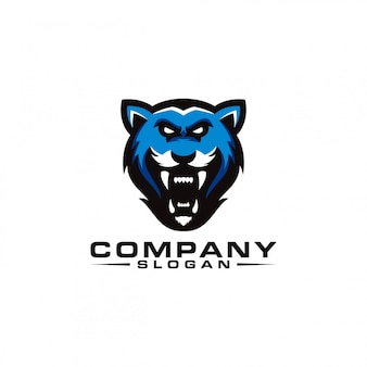 Design de logotipo do tigre