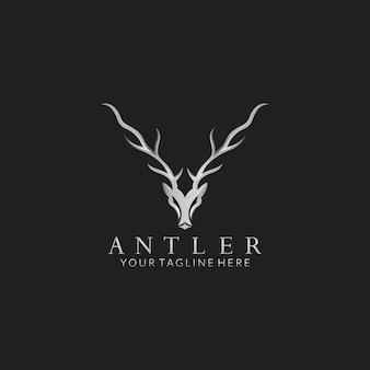 Design de logotipo do vetor cervo