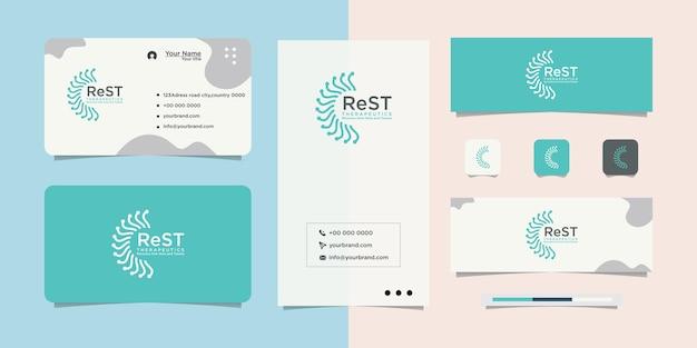 Design de logotipo e cartão de visita internet connect