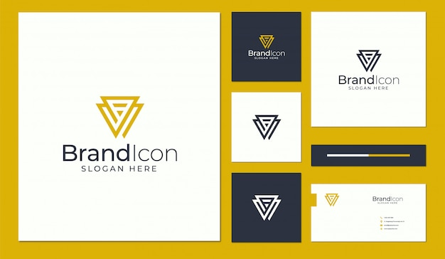 Design de logotipo e cartão de visita