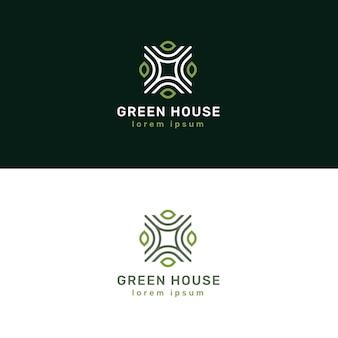 Design de logotipo elegante imobiliária