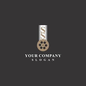 Design de logotipo elegante para produção de filmes 2