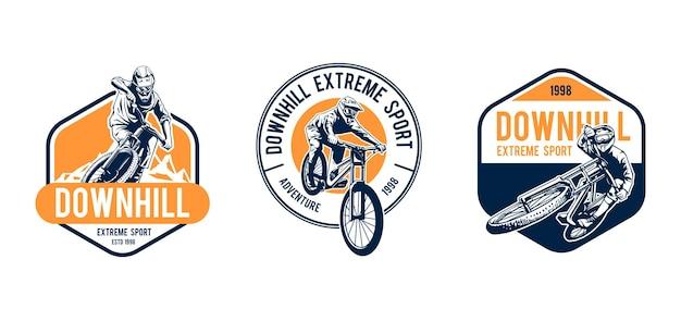 Design de logotipo em declive
