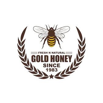 Design de logotipo, emblemas, banners, anúncios de mídia social e etiquetas para produtos de mel