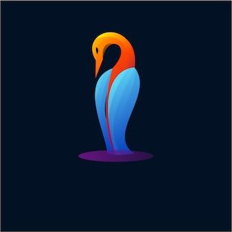 Design de logotipo flamingo