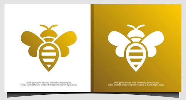 Design de logotipo honey bee