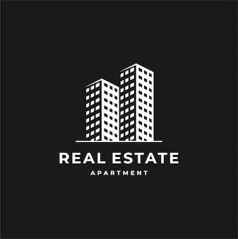Design de logotipo imobiliário.