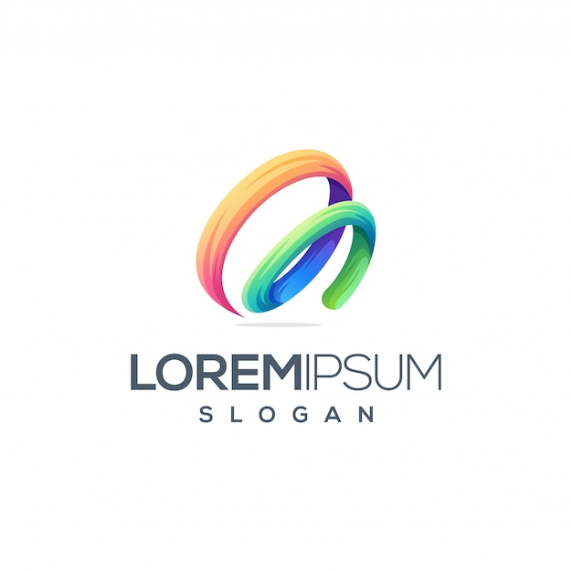 Design de logotipo impressionante letra m