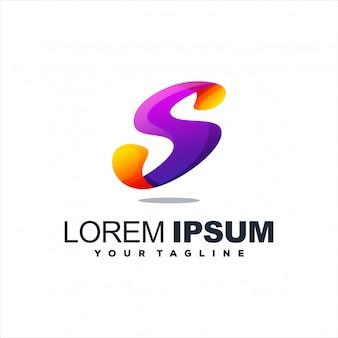 Design de logotipo impressionante letra s