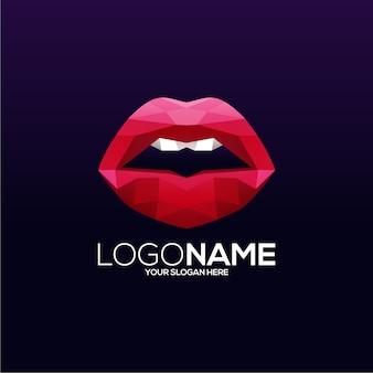 Design de logotipo labial