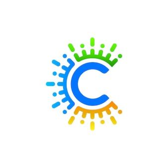 Design de logotipo lettec c