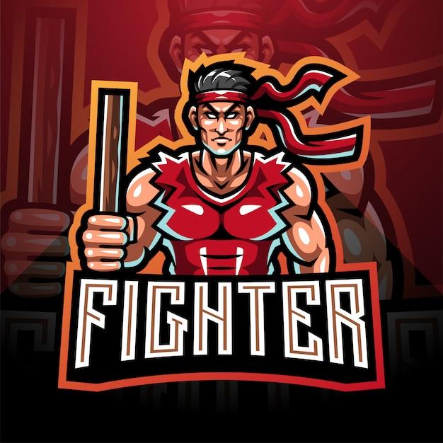 Design de logotipo mascote esport lut