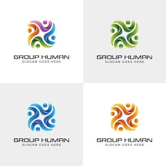 Design de logotipo moderno abstrato