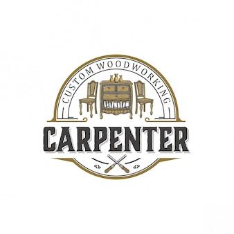 Design de logotipo para carpintaria