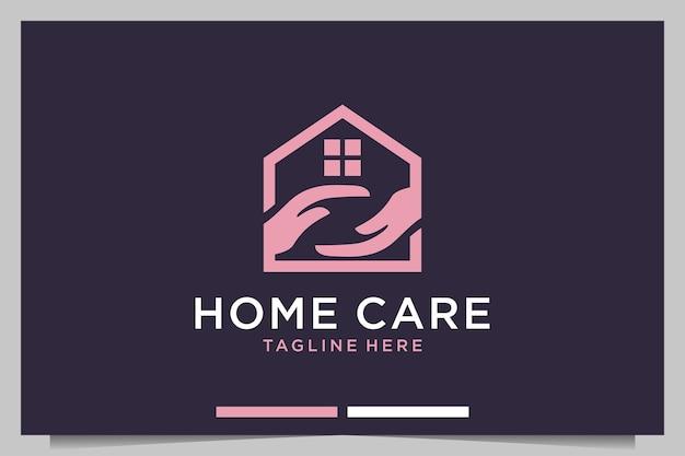 Design de logotipo para cuidados domiciliares