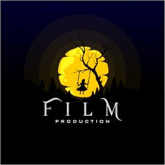 Design de logotipo para produção de filmes