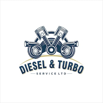 Design de logotipo para turbo