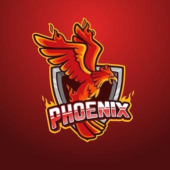 Design de logotipo phoenix
