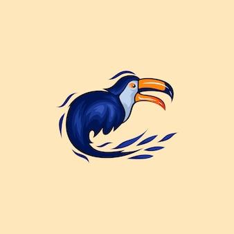 Design de logotipo tucano para sua empresa