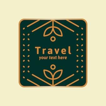 Design de logotipo verde