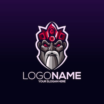 Design de logotipo viking