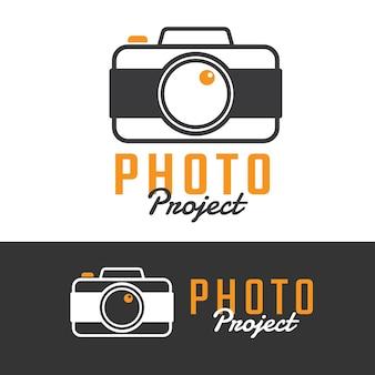 Design de logotipos de estúdio de fotografia