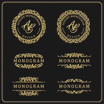 Design de luxo para casamento e decoração