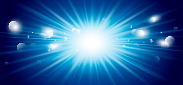 Design de luz de fundo abstrato