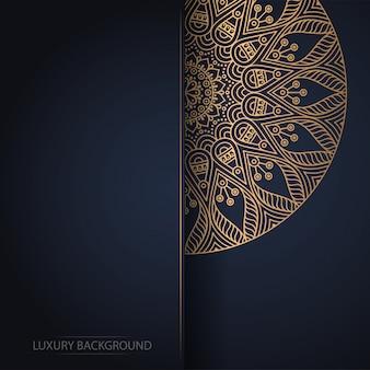 Design de mandala ornamental de luxo
