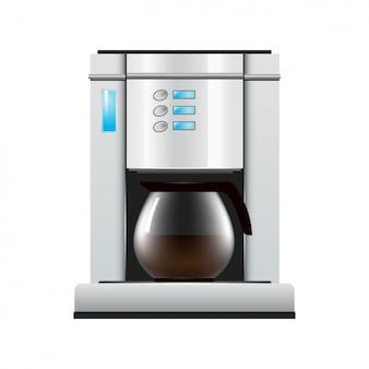 Design de máquina de café