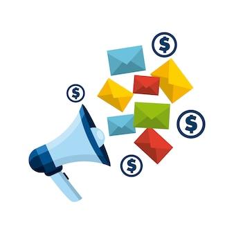 Design de marketing de correio