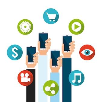 Design de marketing de vídeo