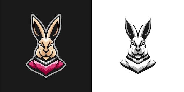 Design de mascote de coelho