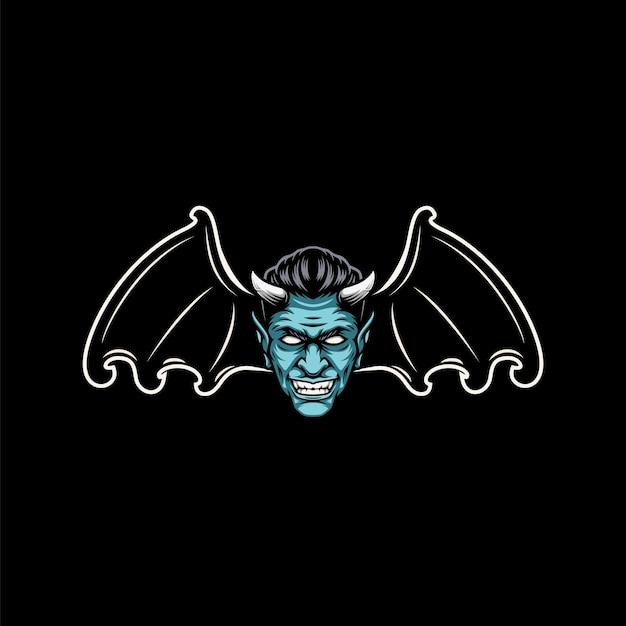 Design de mascote de morcego