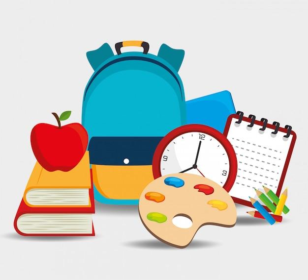 Design de material escolar