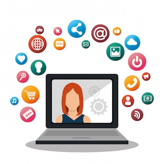 Design de mídia social