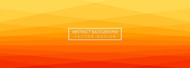 Design de modelo de banner colorido abstrato papercut
